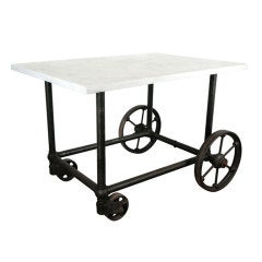 Rolling Industrial Table Base