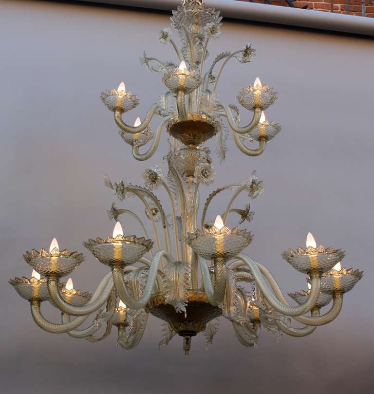 Items Similar To Lighting Rustic Chandelier Vintage 1920 S: Imposing Antique, 1920s Two-Tier Murano Chandelier For