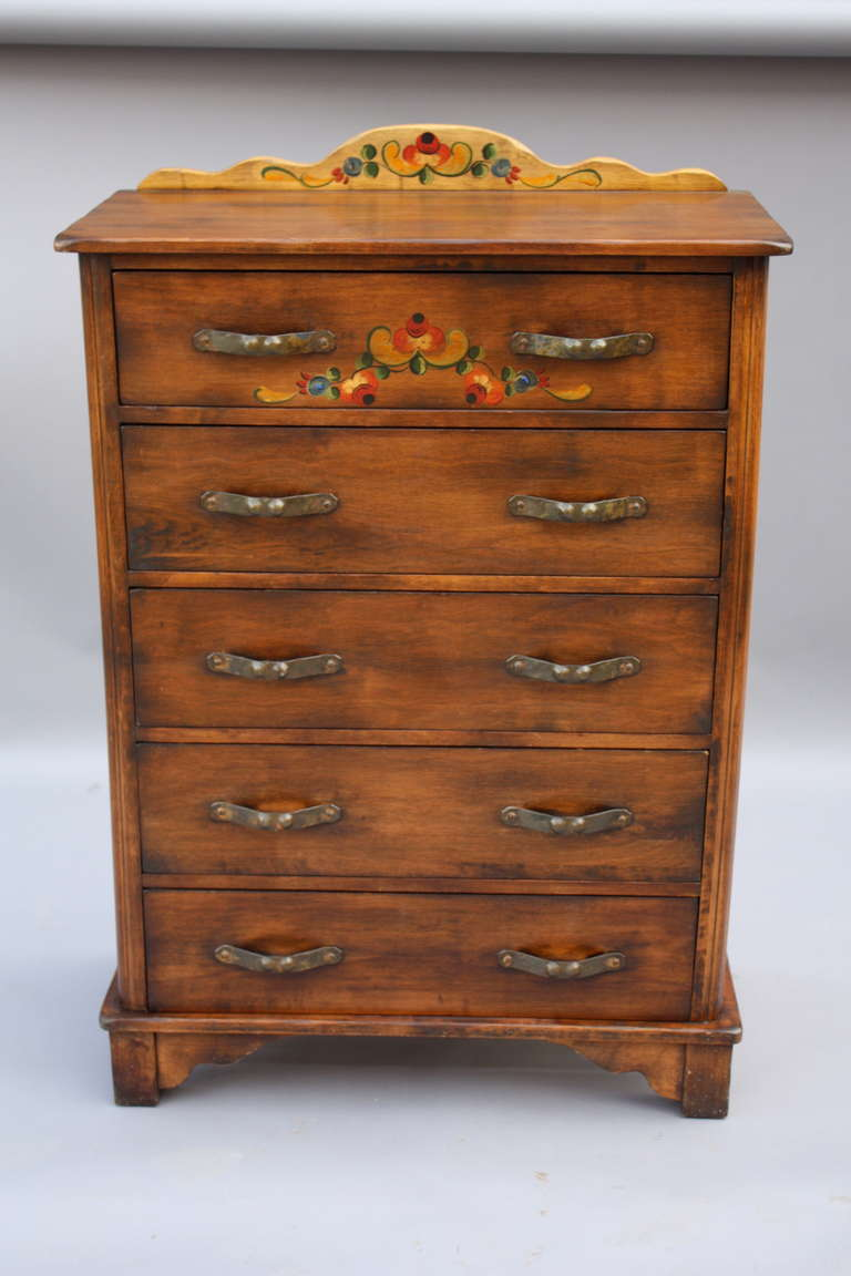 1930s Signed Monterey Dresser By Barker Brothers At 1stdibs