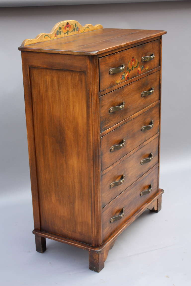 1930s Signed Monterey Dresser By Barker Brothers At 1stdibs