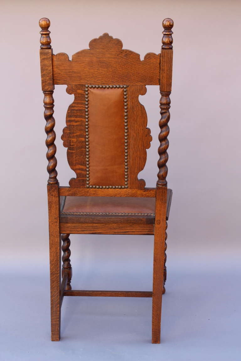 antique set of 1920 39 s carved 8 chairs at 1stdibs