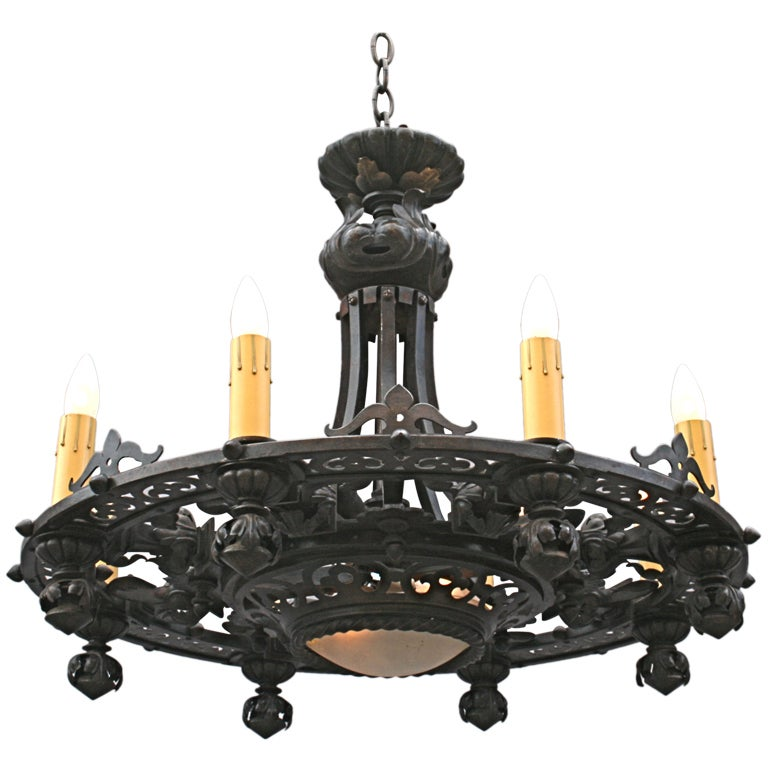 Dramatic 192039s Chandelier at 1stdibs
