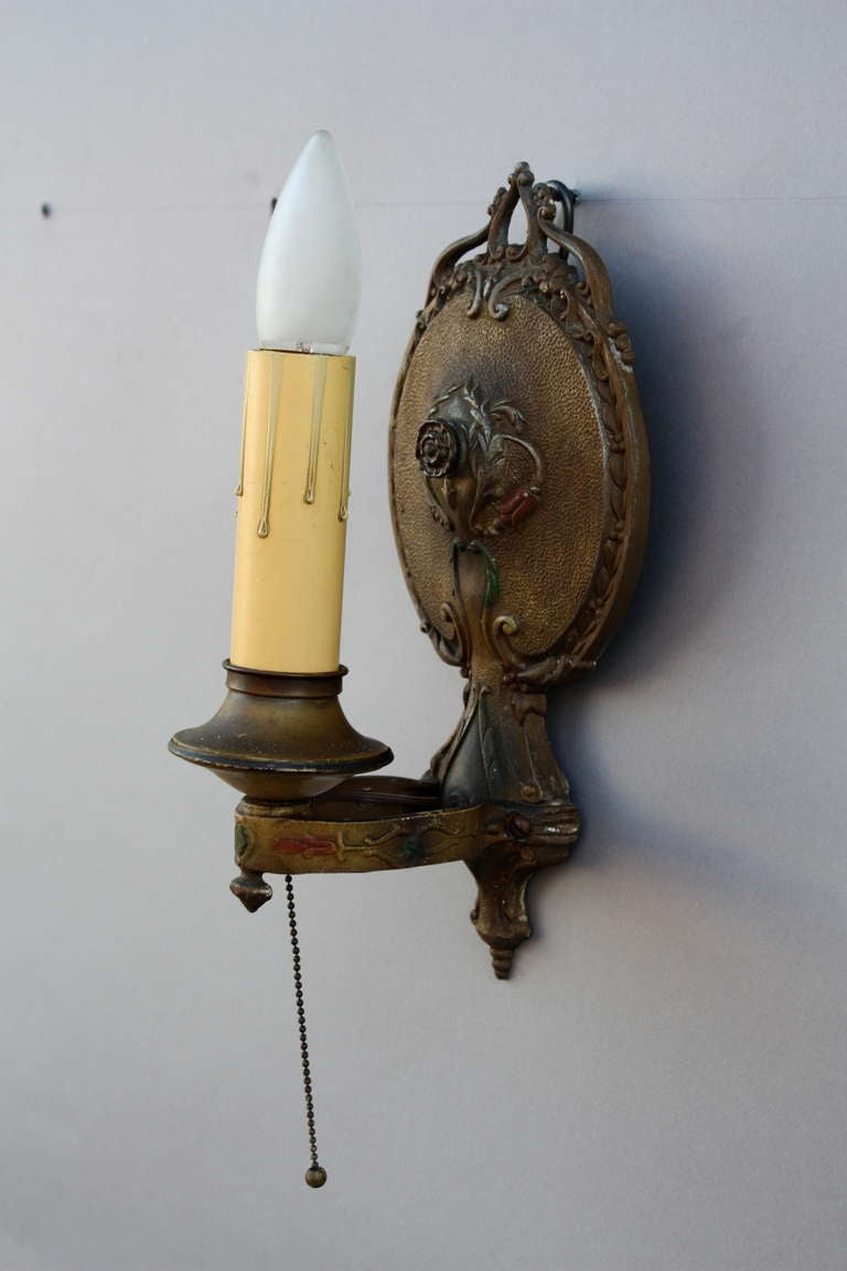 1920s ~ 1 Of 2 Single Sconces For Sale 1