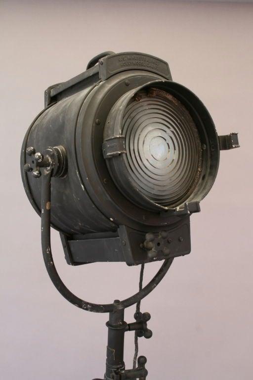 Industrial Large Vintage Hollywood Spotlight At 1stdibs