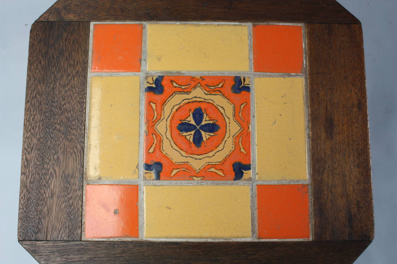 Rancho Spanish Revival 1920s Tile Table For Sale At 1stdibs