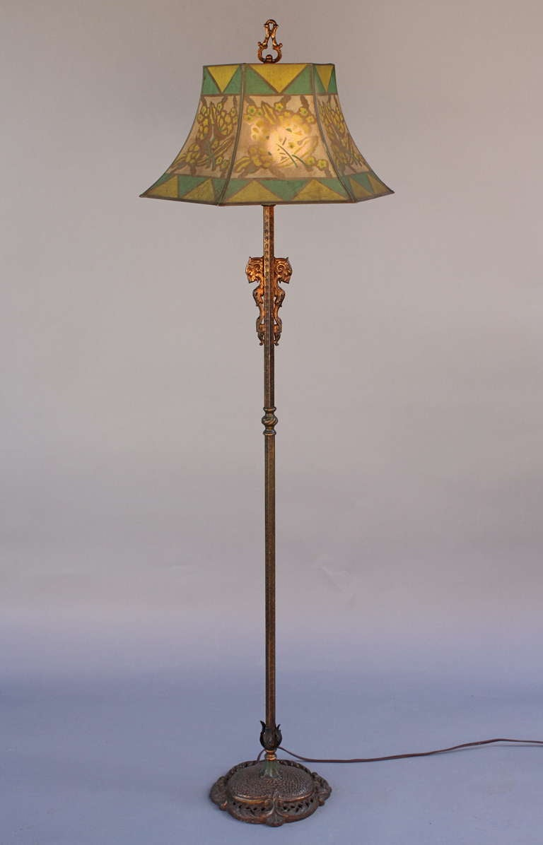 1920 39 s floor lamp at 1stdibs for 1920 floor lamp