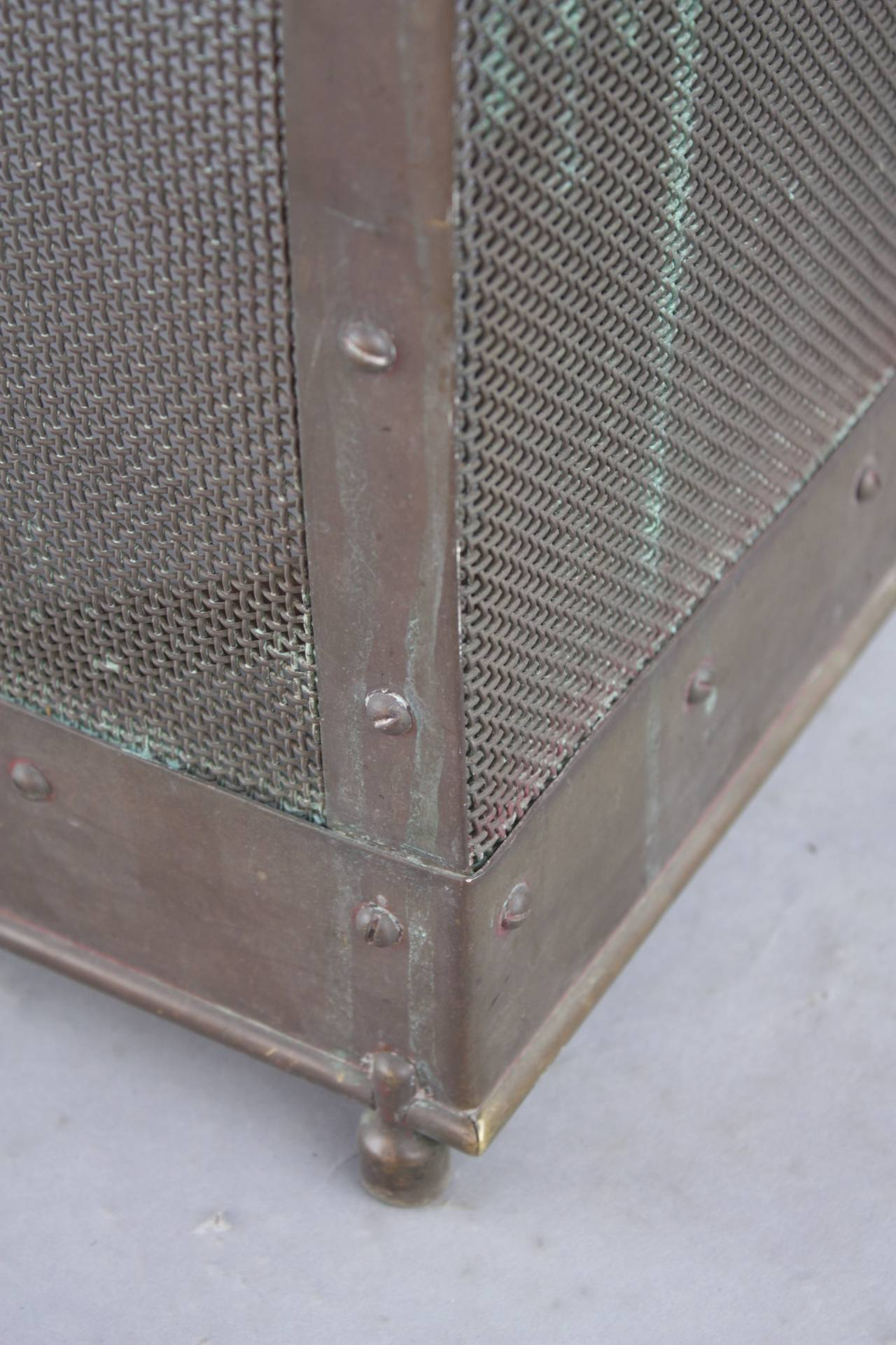 free standing fireplace screen for sale at 1stdibs