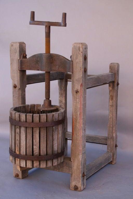 Antique Wooden Grape/Wine Press 4