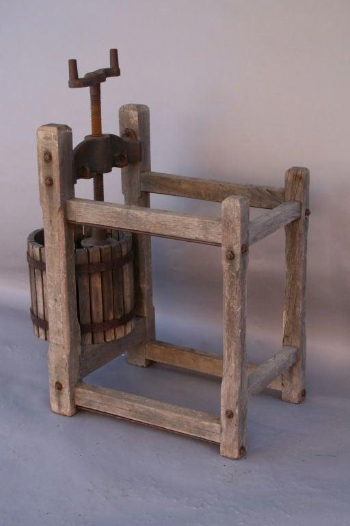 Antique Wooden Grape/Wine Press 5