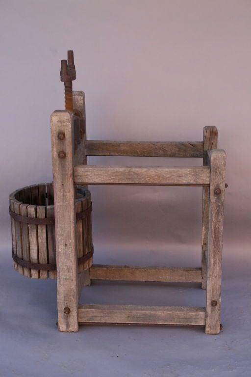 Antique Wooden Grape/Wine Press 6