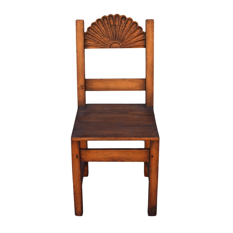 New Mexican Side Chair At 1stdibs