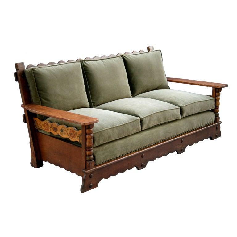 Signed Monterey Sofa/Rare Form at 1stdibs