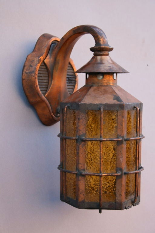 Mounting Height For Exterior Wall Sconces : Exterior 1920's Wall Mounted Sconces at 1stdibs