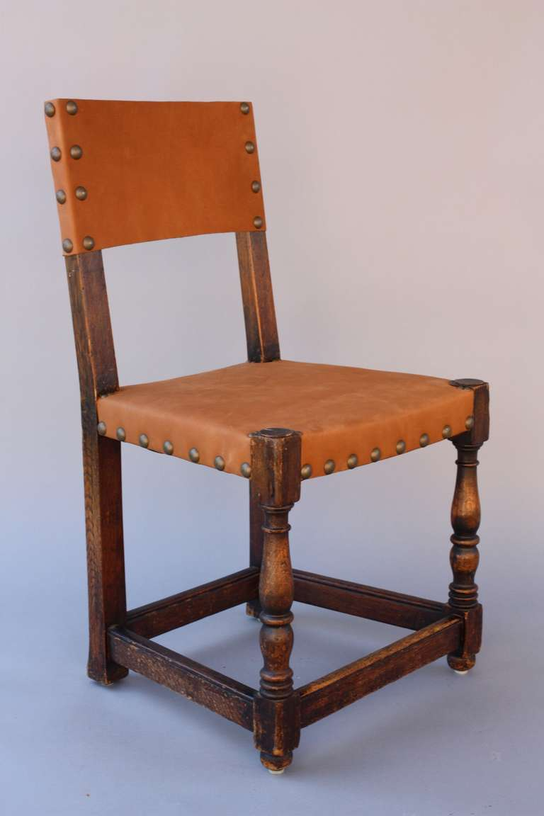 Set Of Six Signed Marshall Laird Chairs 1920 39 S At 1stdibs