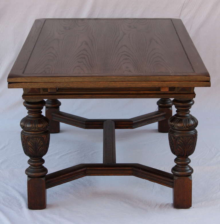 1920s Spanish Revival Dining Table In Excellent Condition For Sale In  Pasadena, CA