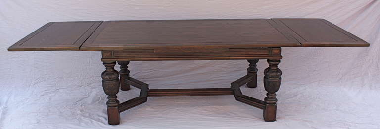 1920s Spanish Revival Dining Table 2