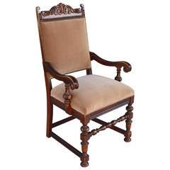 Spanish Revival Armchair