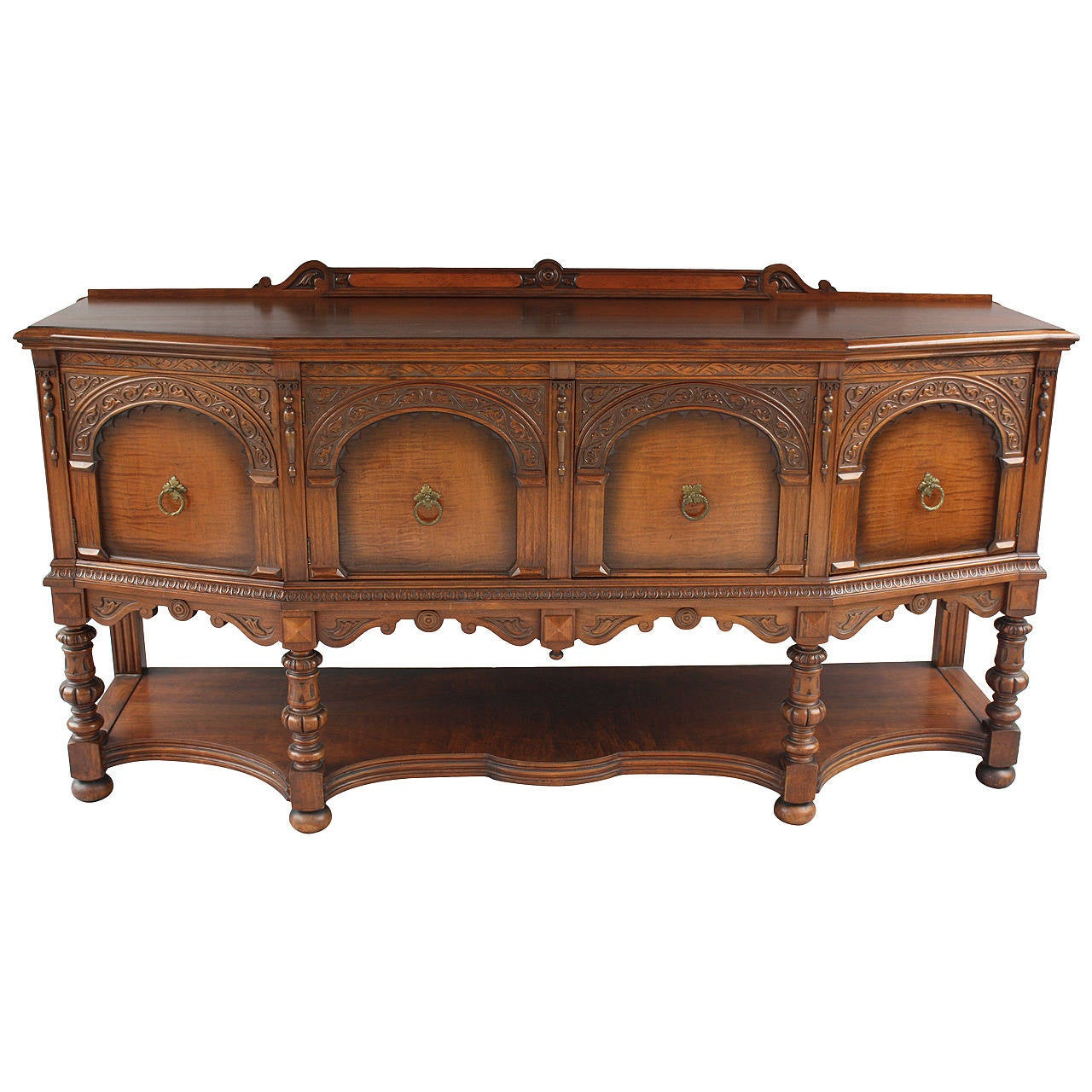 Classic Spanish Revival Sideboard at 1stdibs