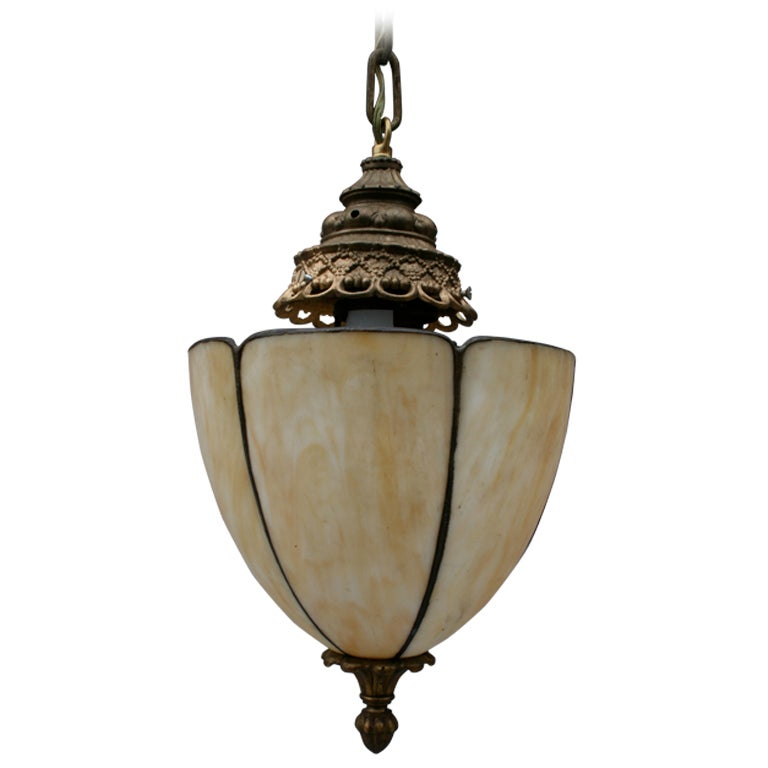 pretty 1920 39 s pendant fixture at 1stdibs