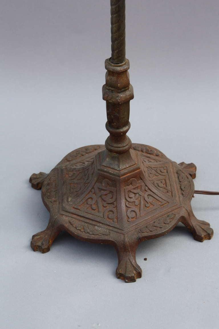 Cast Iron Floor Lamp Circa 1920 S At 1stdibs