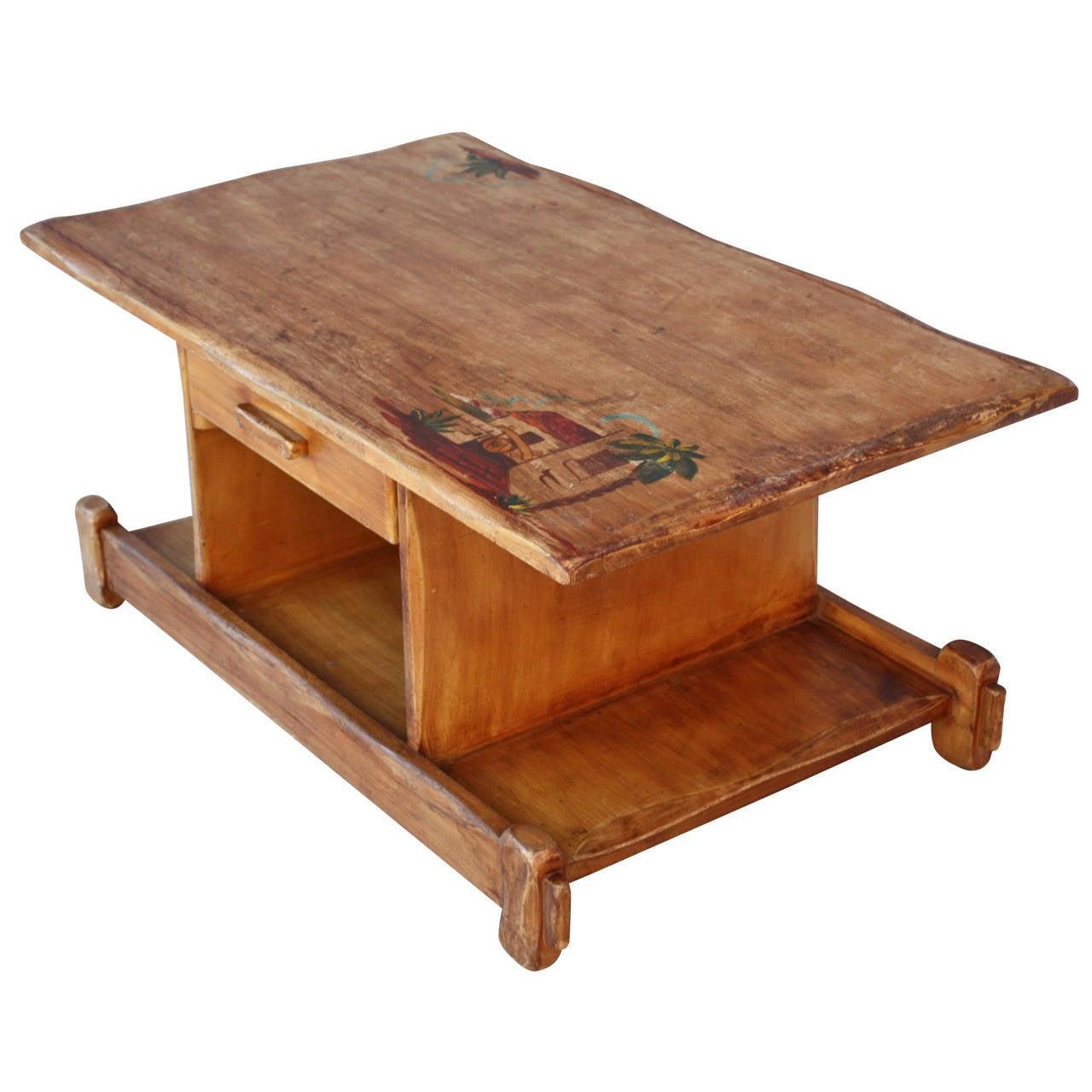 Very Unusual Rancho Coffee Table At 1stdibs