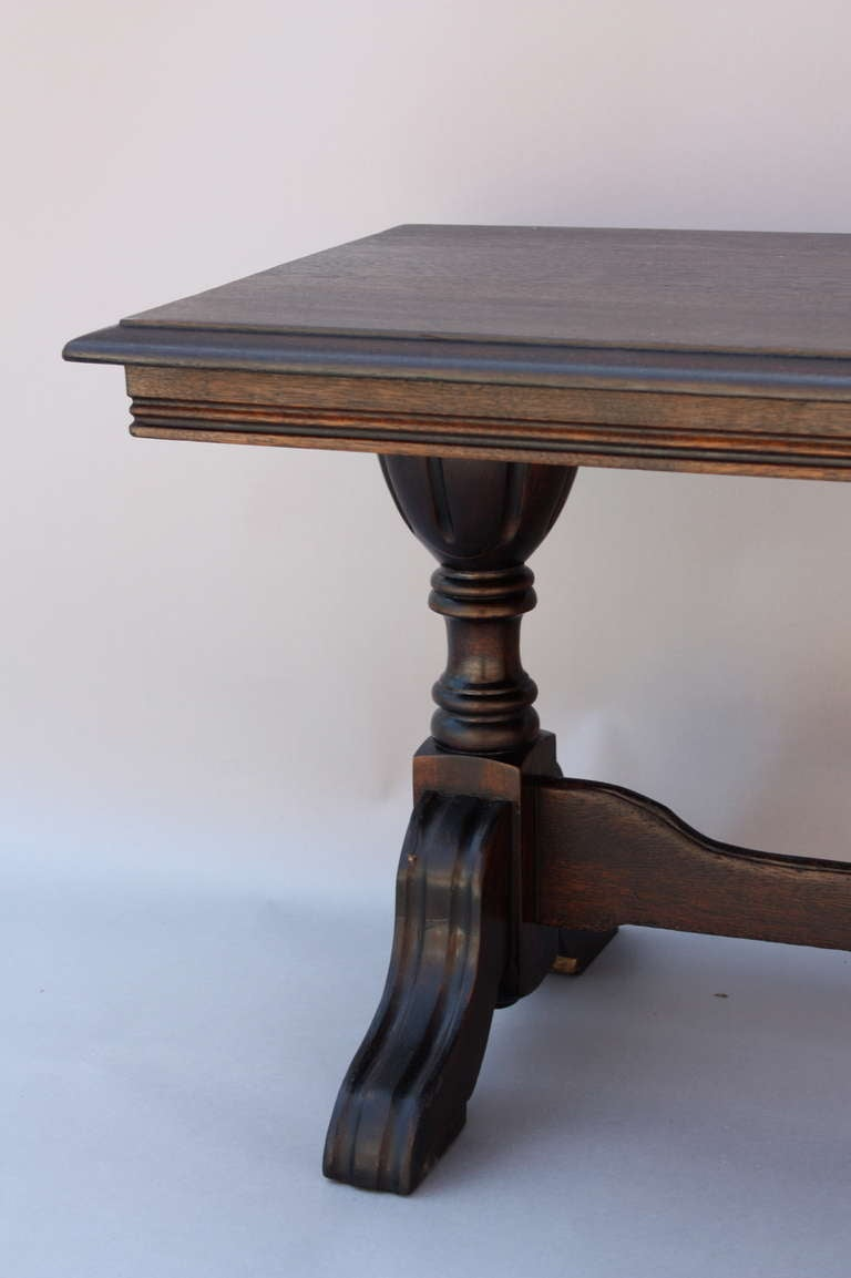 Antique 1920 39 S Mahogany Coffee Table At 1stdibs