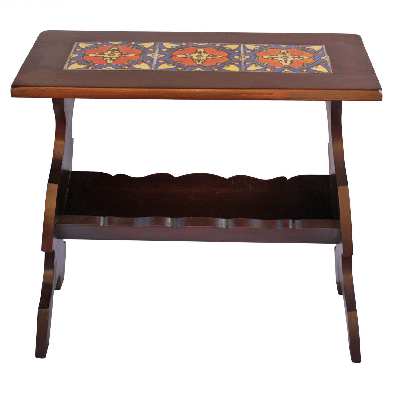 Malibu 1920s tile table at 1stdibs for L furniture more kelowna
