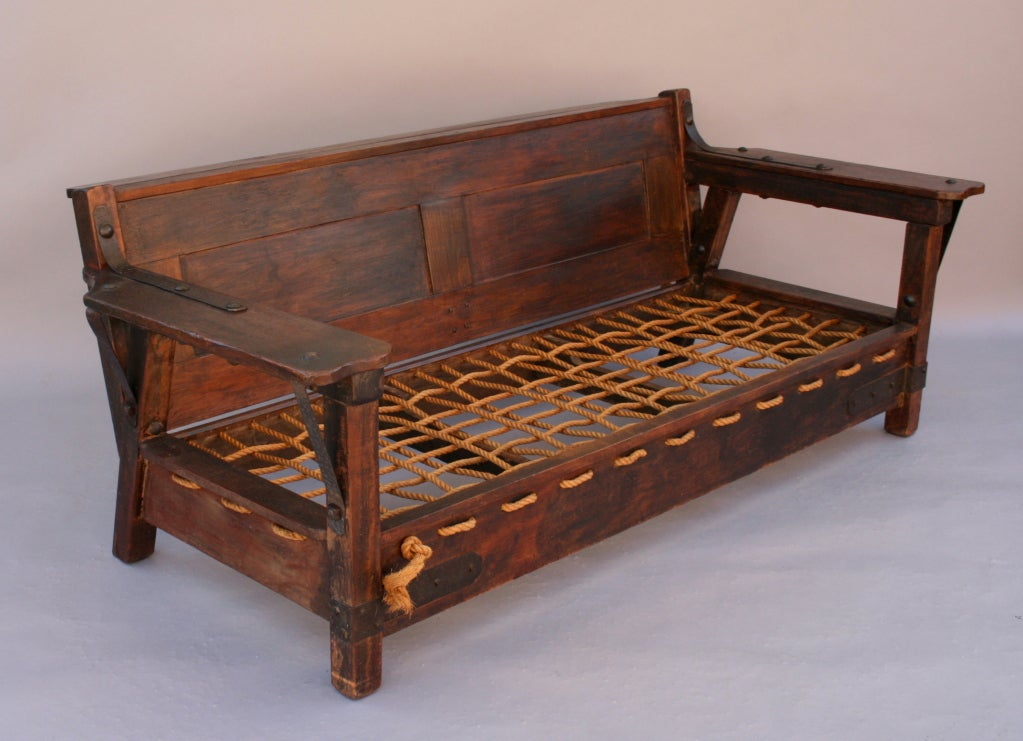 Rare And Exceptional Imperial Monterey Style Sofa At 1stdibs