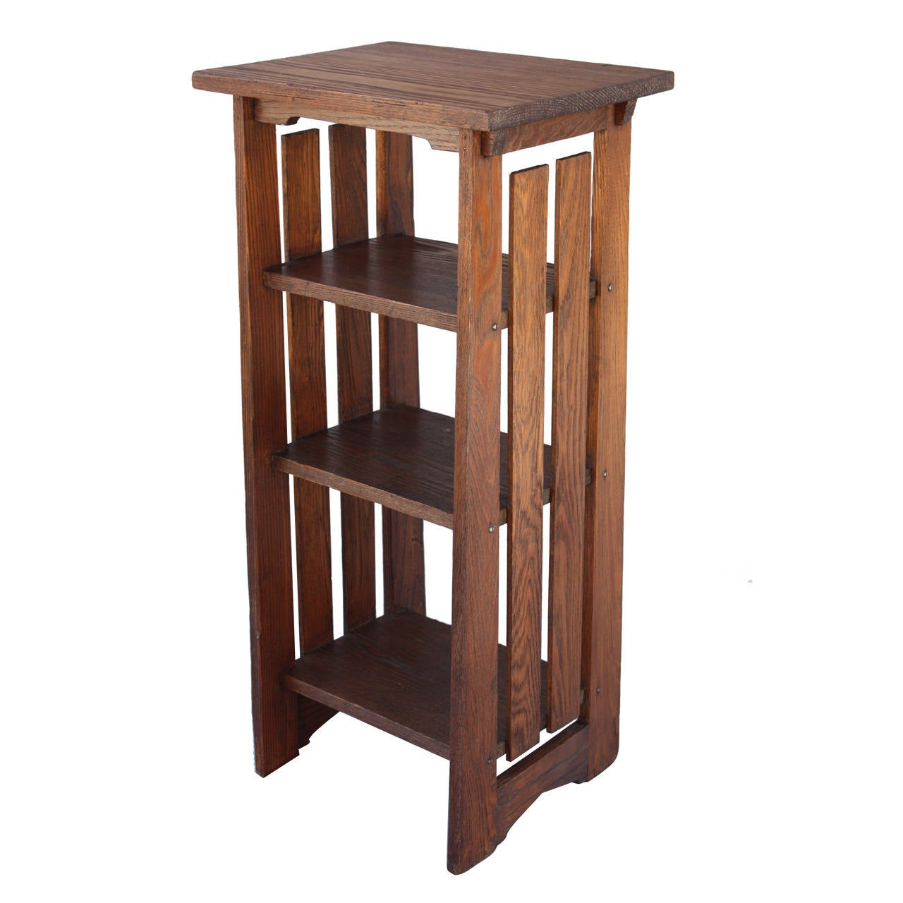 arts and crafts magazine stand at 1stdibs. Black Bedroom Furniture Sets. Home Design Ideas