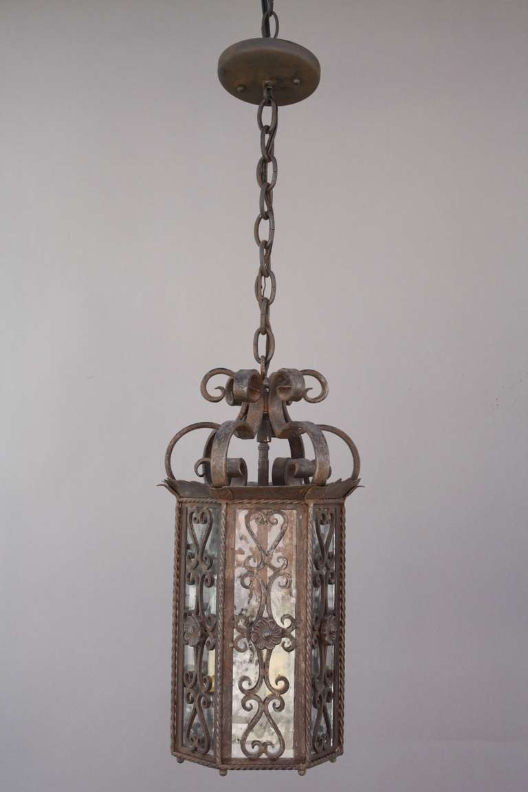 1920s Spanish Revival Pendant At 1stdibs
