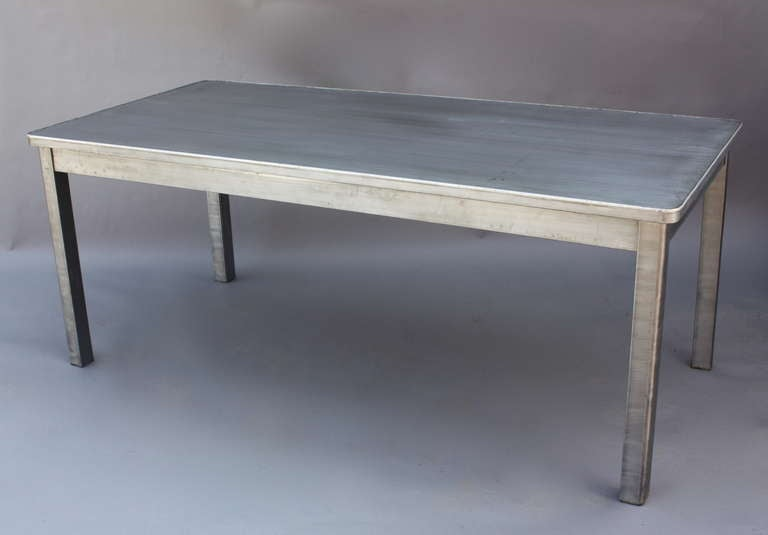 Vintage Steel Industrial Table 72quot Long at 1stdibs : IMG0171l from www.1stdibs.com size 768 x 535 jpeg 19kB
