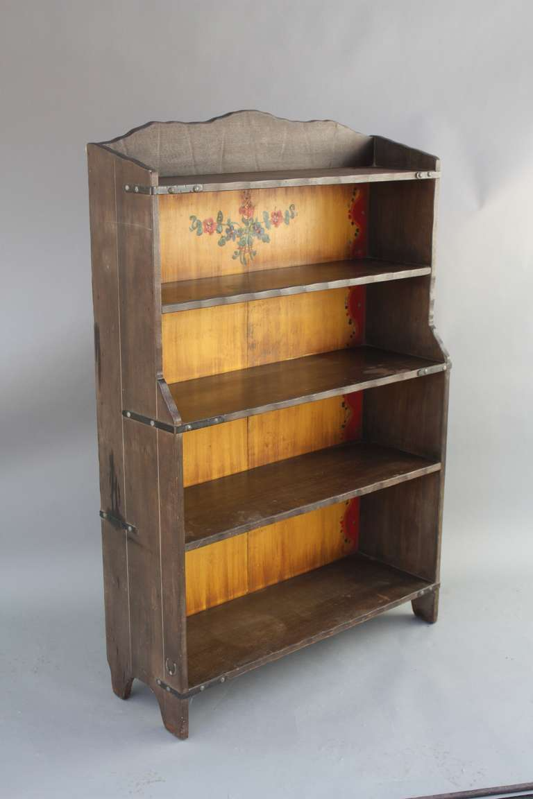 Old Wood Bookcases ~ Wonderful old wood finish monterey bookcase at stdibs