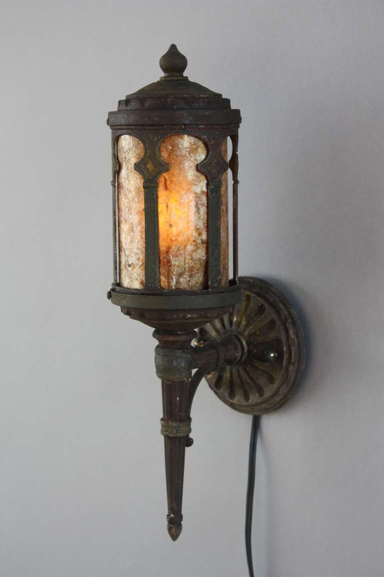 1920s petite pair of exterior fixtures at 1stdibs