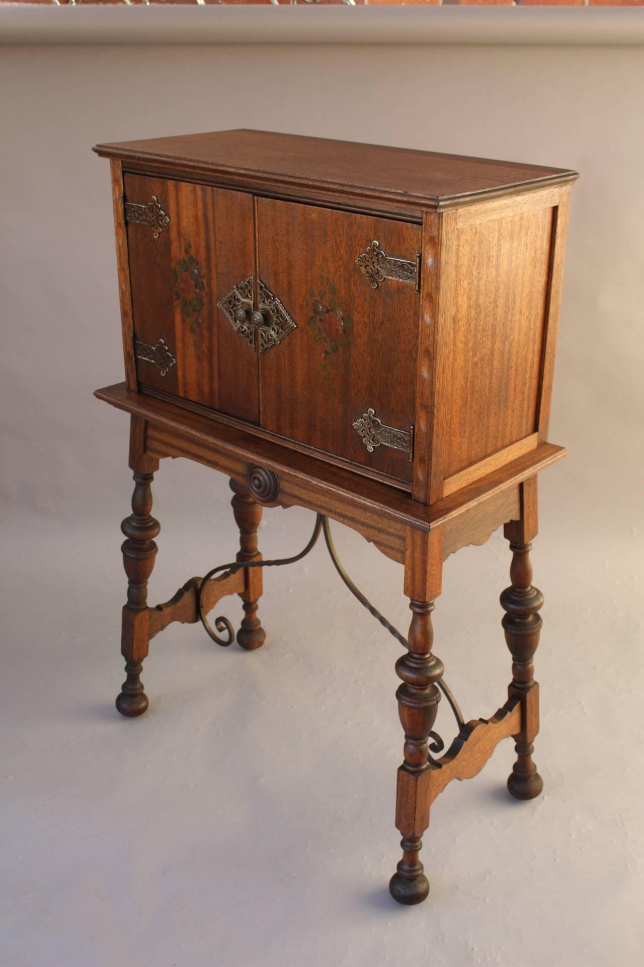Spanish Revival Vargueno Desk at 1stdibs