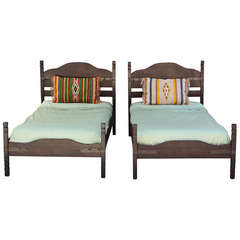 1930s Pair of Twin Monterey Beds