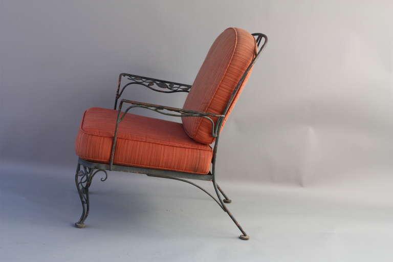 1940s Iron Outdoor Armchair At 1stdibs