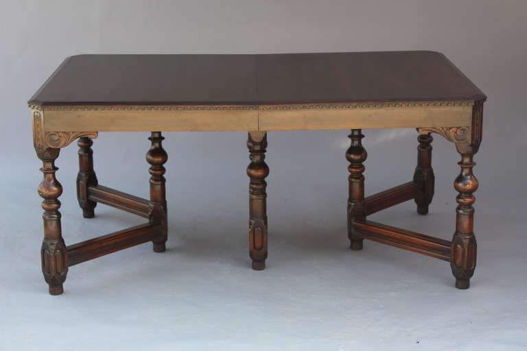 antique walnut 1920 s dining room table at 1stdibs