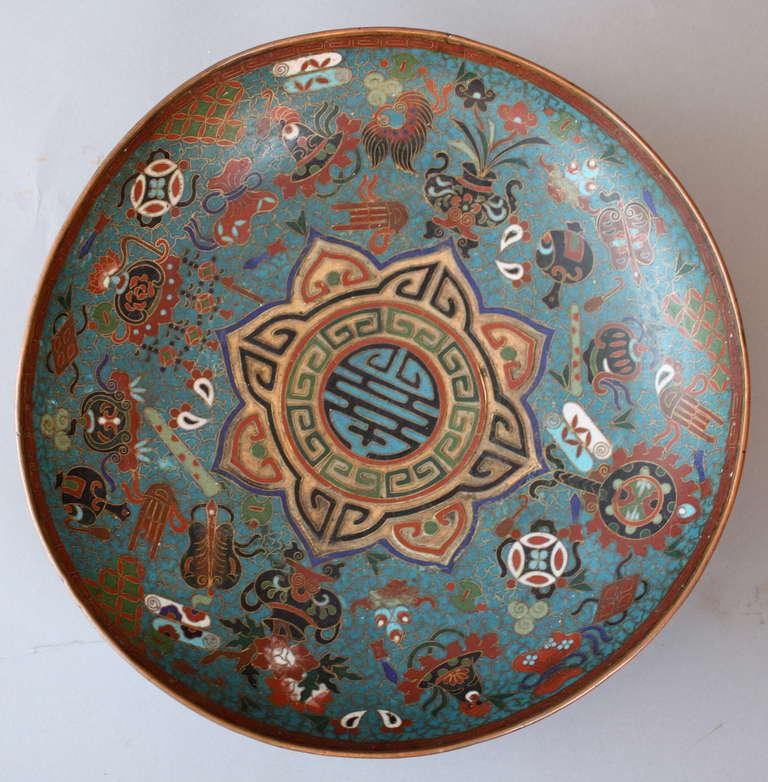 Ming Dynasty Cloisonn E Enameled Bowl At 1stdibs