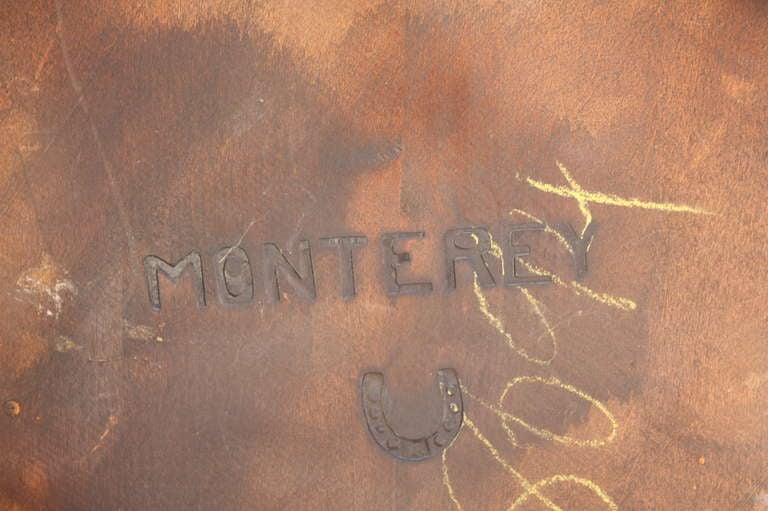 Charming Signed Monterey A Frame Chair At 1stdibs