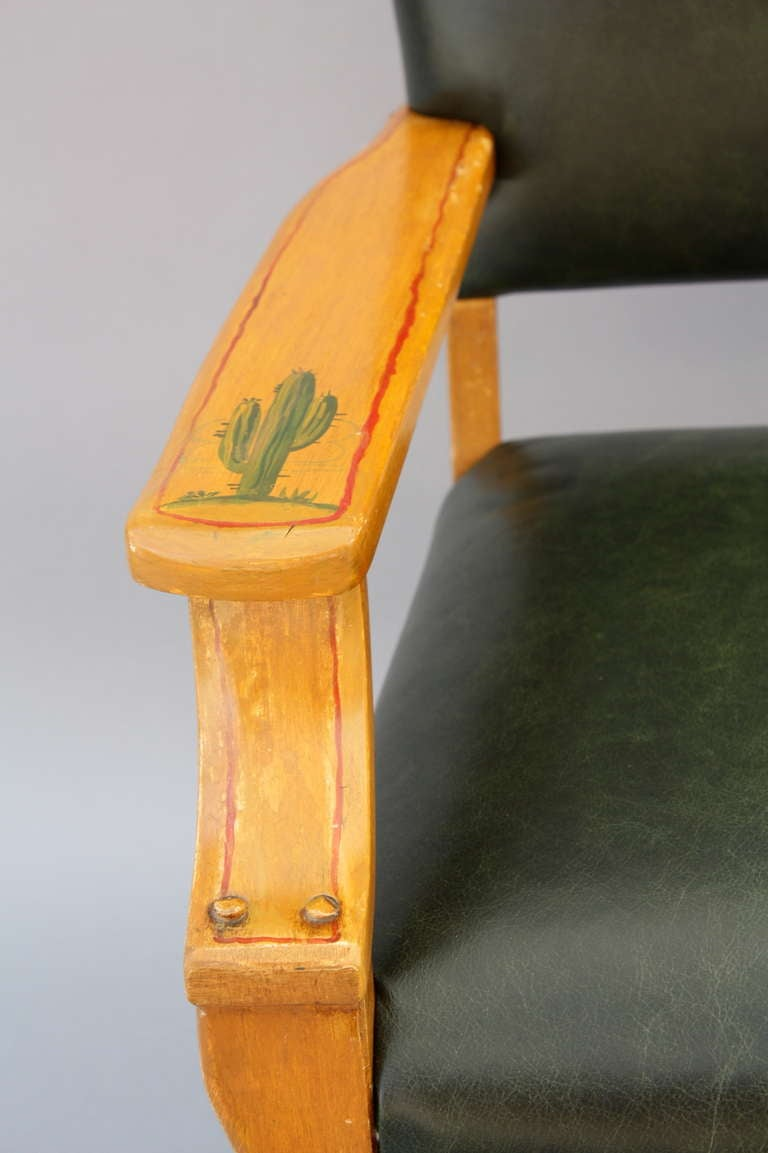 This hand painted hepplewhite style chairs is no longer available - Monterey Style Chair At 1stdibs