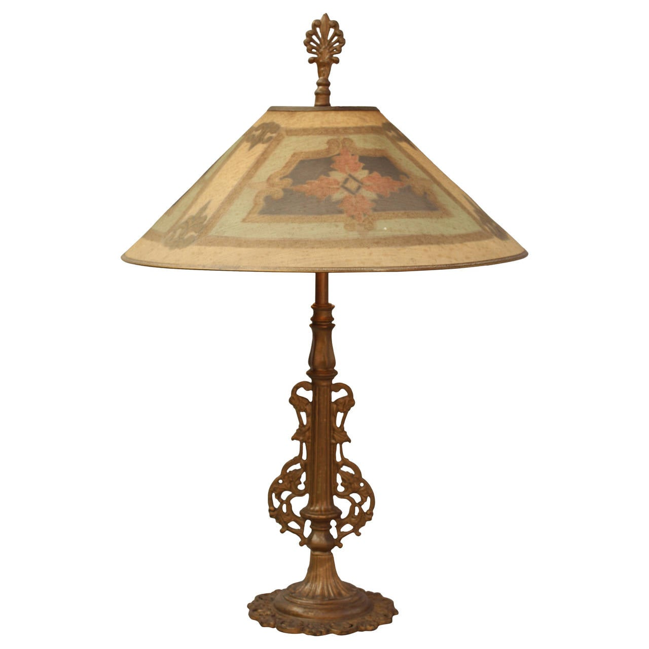 this 1920s table lamp with wire mesh shade is no longer available. Black Bedroom Furniture Sets. Home Design Ideas