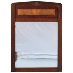 Turn of The Century Carved Mirror