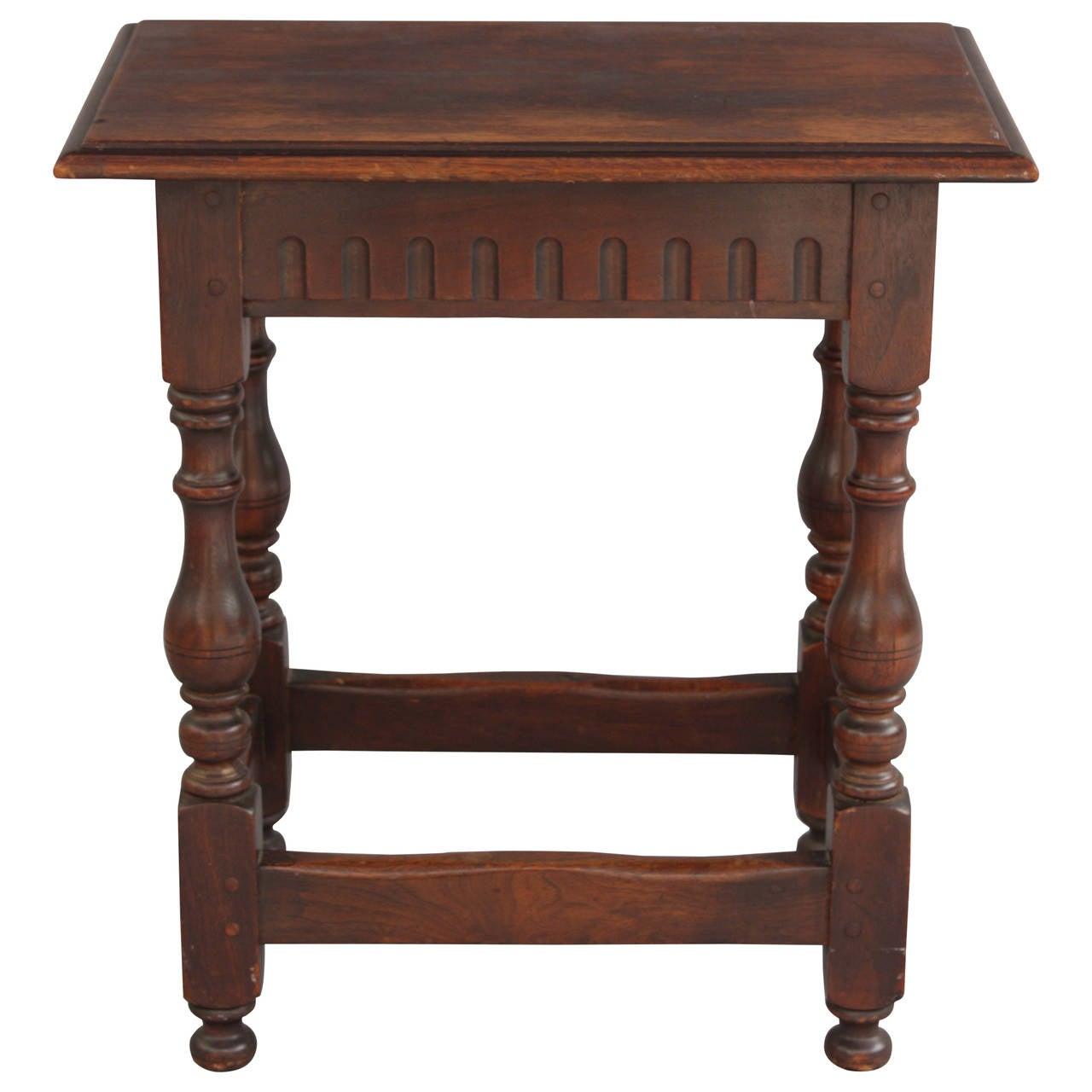 1920s walnut side table at 1stdibs for Walnut side table