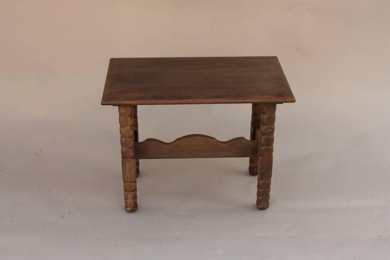Small monterey period occasional table for sale at 1stdibs for Small occasional tables