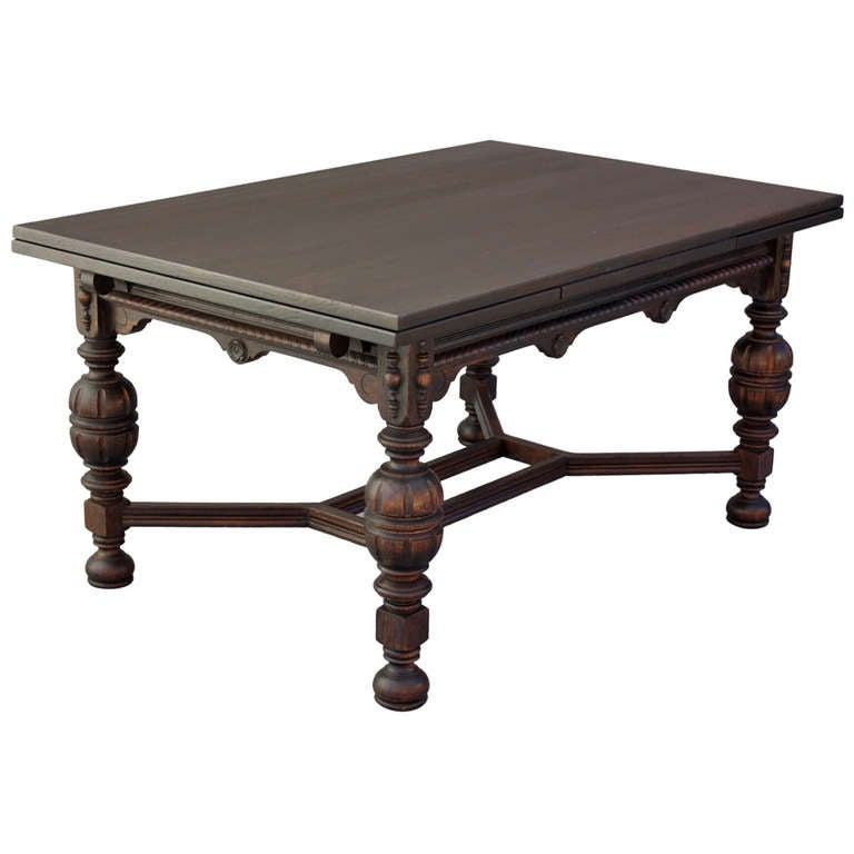 1920 39 S Dining Table With Retractable Leaves