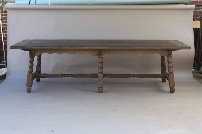 Museum Quality Extra Long Monterey Table At 1stdibs