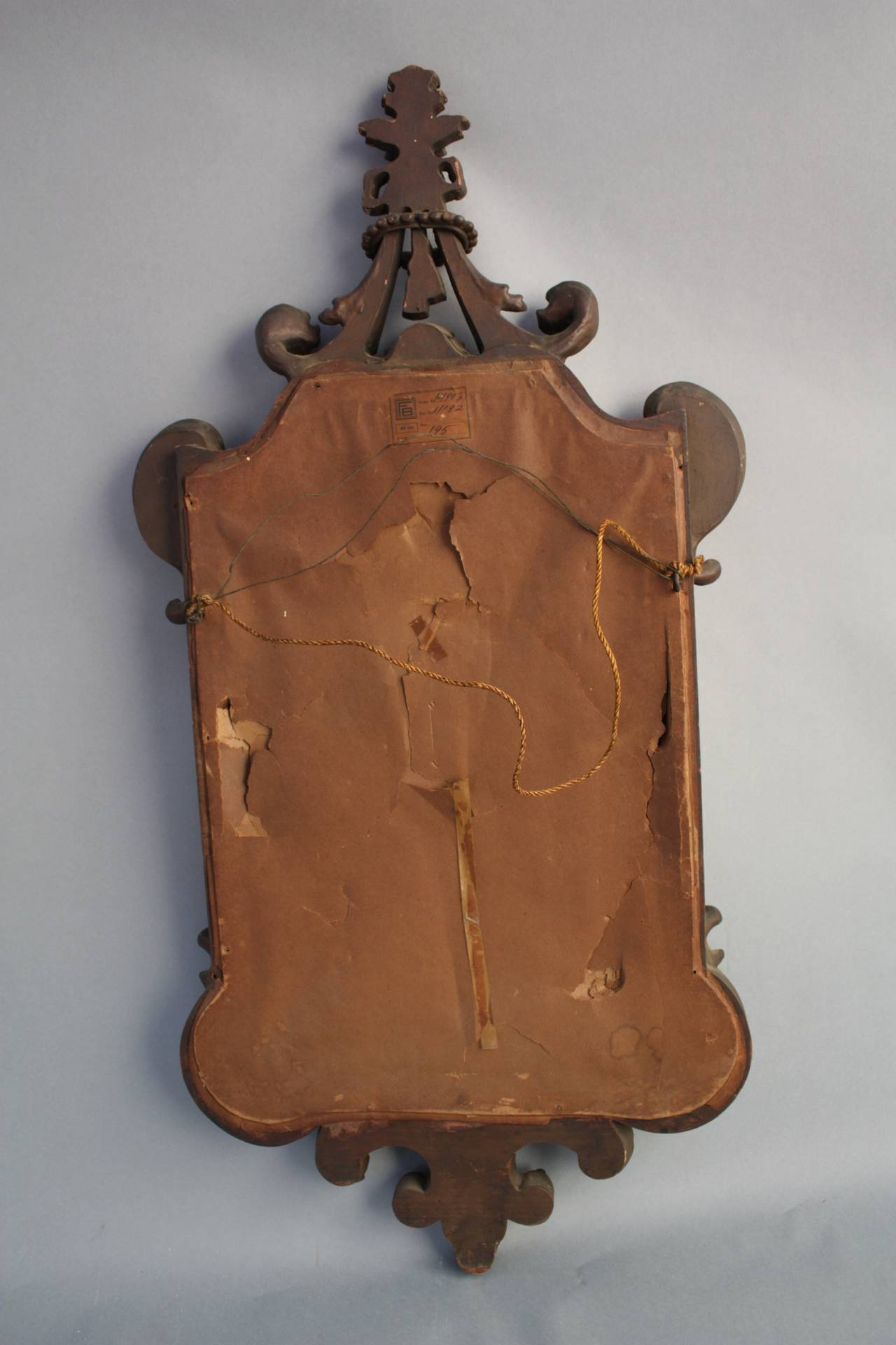Antique Carved Wood Mirror Circa 1920s At 1stdibs