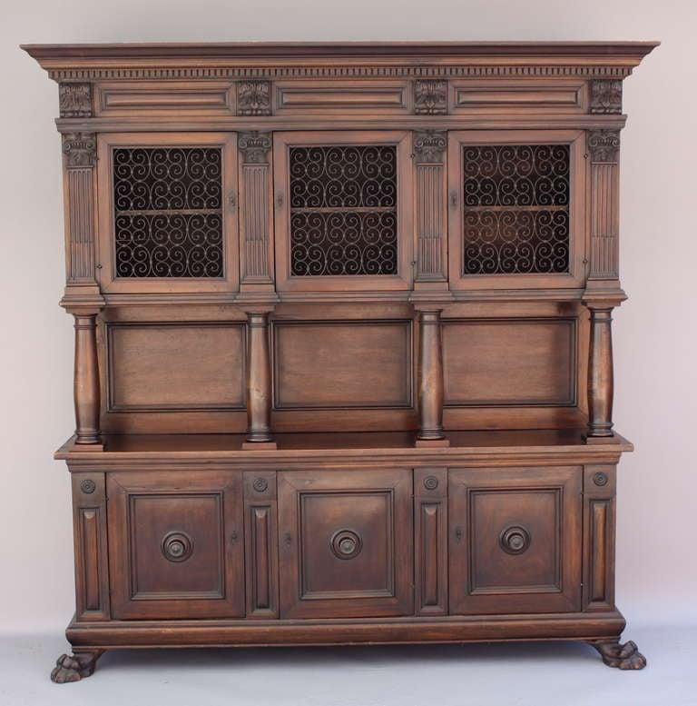 Beautiful Spanish Revival Cabinet at 1stdibs