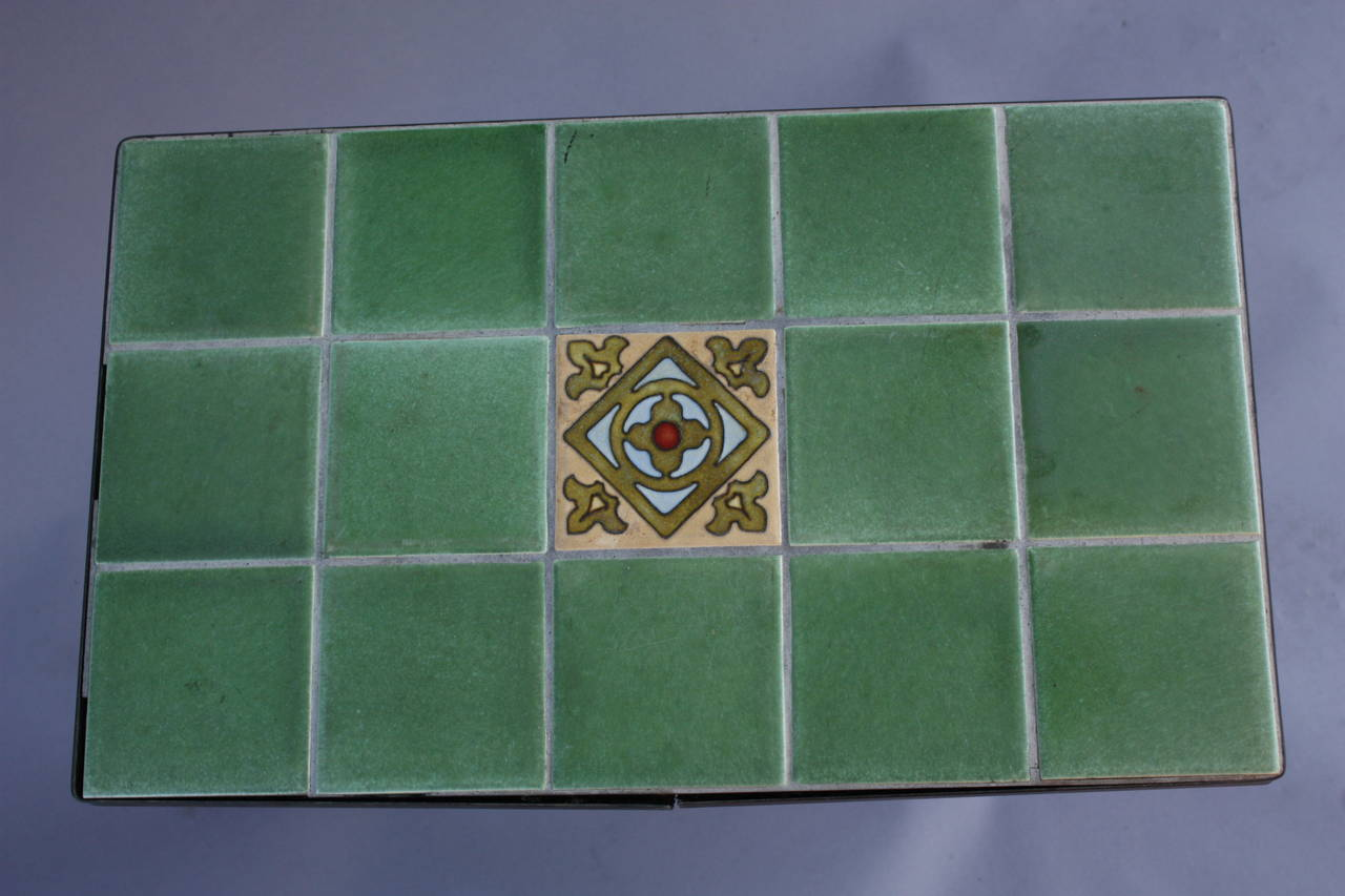 Antique Spanish Revival California Tile Table At 1stdibs