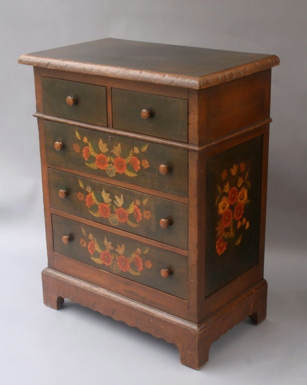 hand painted monterey furniture bedroom suite at 1stdibs